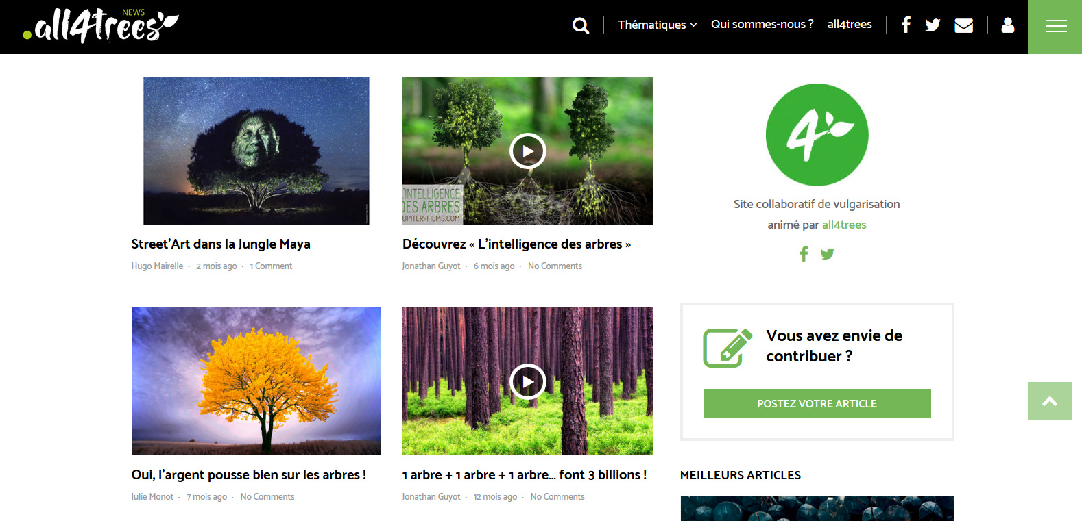 site actualites deforestation