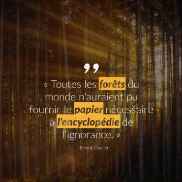 Citation #8 – Arbre & Forêt