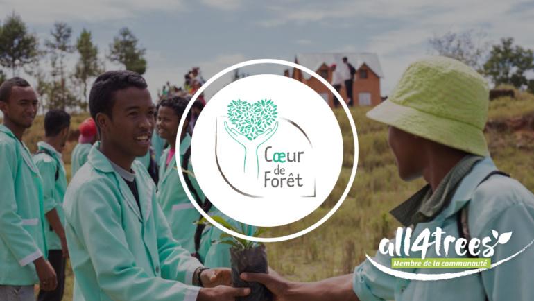 Coeur de Forêt devient membre de la communauté all4trees