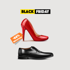 Black Friday paire chaussures