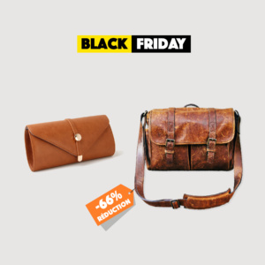 Black Friday sac main cuir